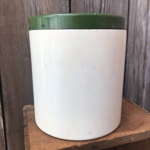 Vintage Kitchen - Lacquer Ware Canister